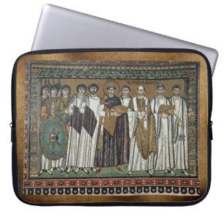 Medieval Monastic Religious Art Laptop Sleeve