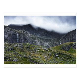 Medieval Nature Fantasy Landscape Mother Earth Postcard