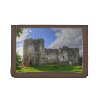 Medieval Norman Chepstow Castle, Wales Tri-fold Wallet