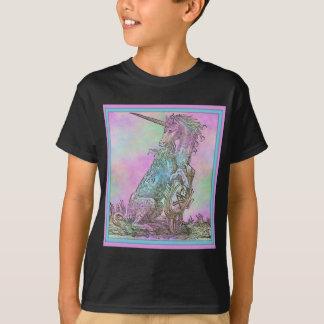 Medieval Rainbow Unicorn T-Shirt