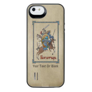 Medieval Russian Bogatyr iPhone SE/5/5s Battery Case