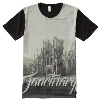Medieval Sanctuary All-Over Print T-Shirt