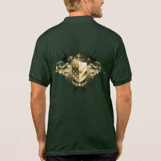 Medieval Shield Polo Shirt