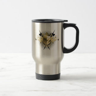 Medieval Shield Travel Mug