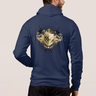 Medieval Shield Zip Hoodie