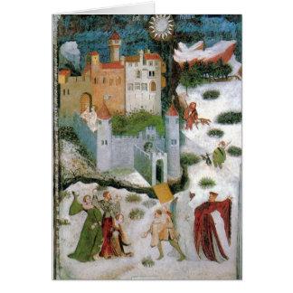 Medieval Solstice Card