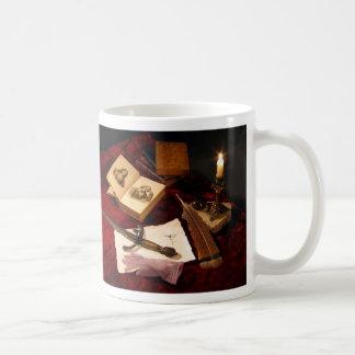 Medieval Still Life Basic White Mug
