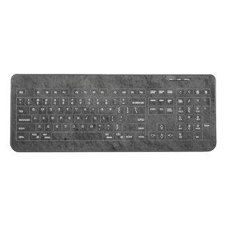 Medieval Stone Wireless Keyboard