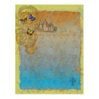 Medieval Storybook Fairy Tale Postcard Invitation