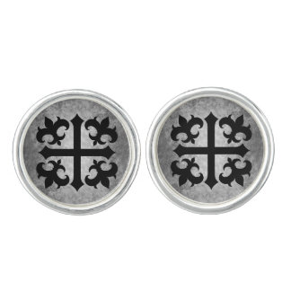 Medieval symbol elegant cufflinks
