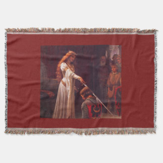 Medieval Tapestry Throw