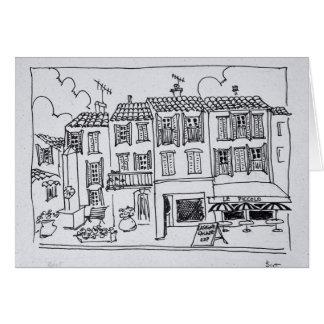 Medieval Village of Biot, France Card