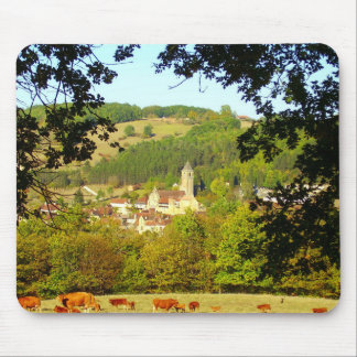 Medieval Village of Plazac Mouse Mat