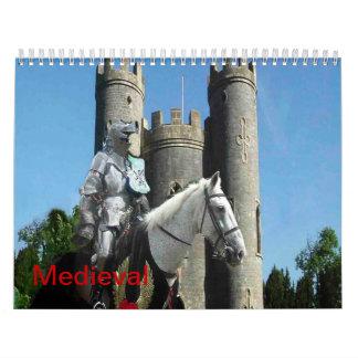 Medieval Wall Calendar