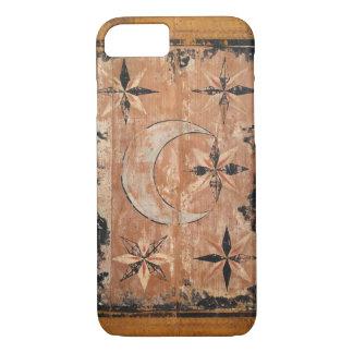 medieval wood painting art vintage old dark Gothic iPhone 8/7 Case
