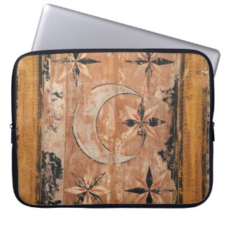 medieval wood painting art vintage old dark Gothic Laptop Sleeve