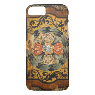 medieval wood painting art vintage old Gothic hist iPhone 8/7 Case