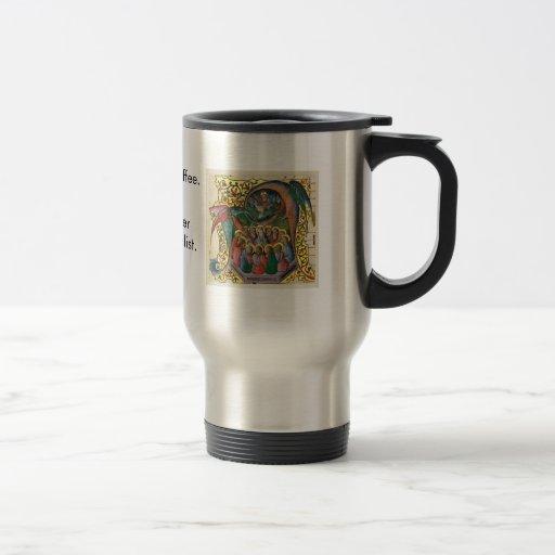 medievalist daughter mug