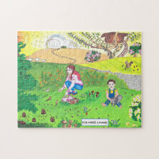 Medilludesign - children in park jigsaw puzzle