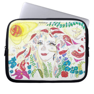 Medilludesign - Consciousness Expansion Laptop Sleeve