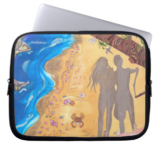 Medilludesign - Experience the oneness Laptop Sleeve