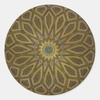 Medina Dome Classic Round Sticker