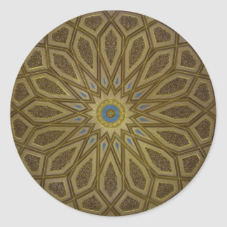 Medina Dome Round Sticker