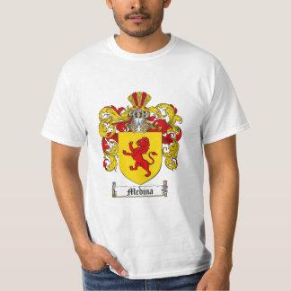 Medina Family Crest - Medina Coat of Arms T-Shirt