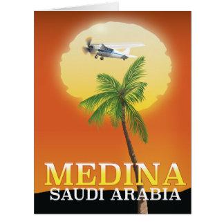 Medina Saudi Arabia Travel poster Card
