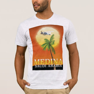 Medina Saudi Arabia Travel poster T-Shirt