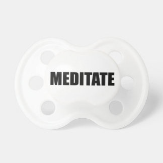 Meditate Baby Pacifier