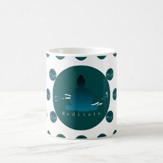 """""""Meditate"""" Beautiful Buddha mug. Coffee Mug"""