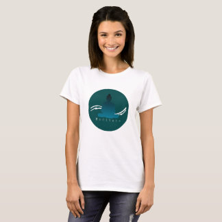 """Meditate"" Beautiful Buddha. T-Shirt"