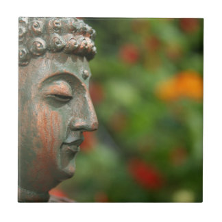 Meditating Buddha Tile