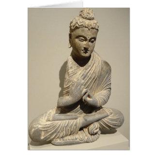 Meditating Buddha Zen Inspirational Card