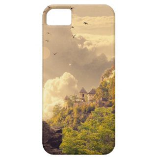Meditating Monk Before Large Temple Barely There iPhone 5 Case
