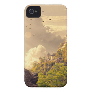 Meditating Monk Before Large Temple Case-Mate iPhone 4 Case