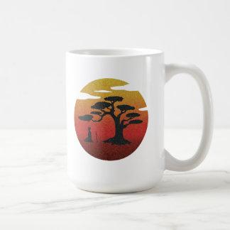 Meditation at Sunset Mug