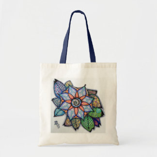 Meditation Flower Tote