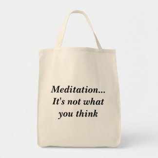 Meditation...It's not what you think