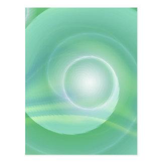 Meditation lightgreen created by Tutti Postcard