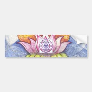 Meditation Lotus Bumper Stickers