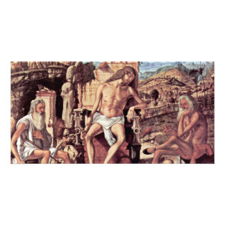 Meditation On The Passion Of Christ By Carpaccio Photo Card