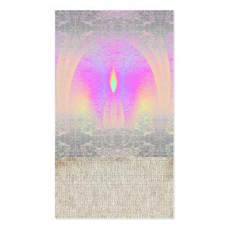 Meditation Rainbow Class Yoga Business Cards