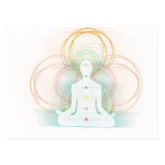 Meditation - Spirituality Postcard
