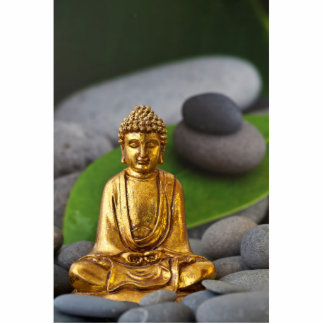 Meditation Standing Photo Sculpture