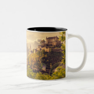 Meditation Two-Tone Coffee Mug