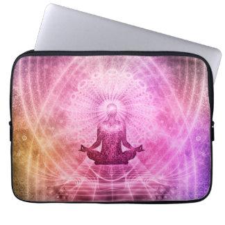 Meditation Yoga Faith Laptop Sleeve