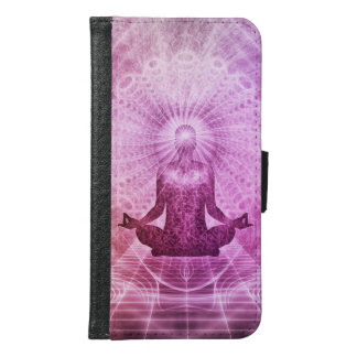 Meditation Yoga Faith Samsung Galaxy S6 Wallet Case