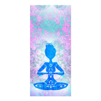 Meditation Yoga Rack Card